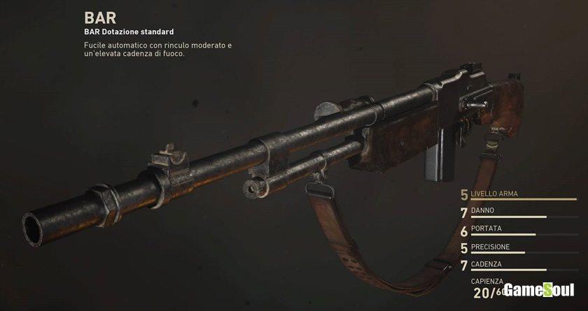 Call of Duty: WWII - configurazione ideale per il Bar