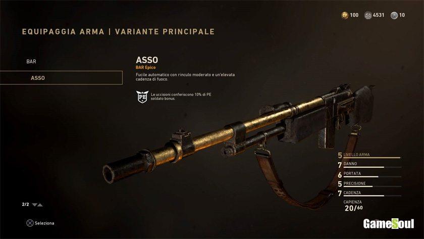 Call of Duty: WWII - Versione epica del Bar: Asso