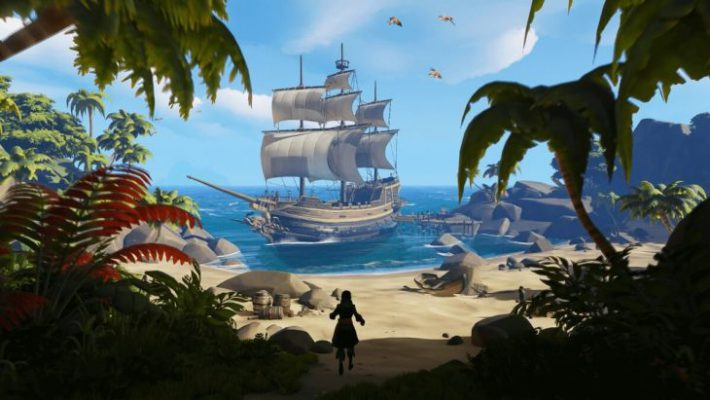 Un video sul sistema di progressione in Sea of Thieves