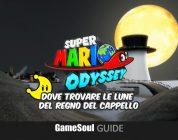 Super Mario Odyssey – Dove trovare le Lune del Regno del Cappello | GUIDA