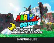 Super Mario Odyssey – Dove trovare le Lune del Regno delle Cascate | GUIDA