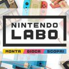 Nintendo LABO: metà Giocattolo metà Videogioco