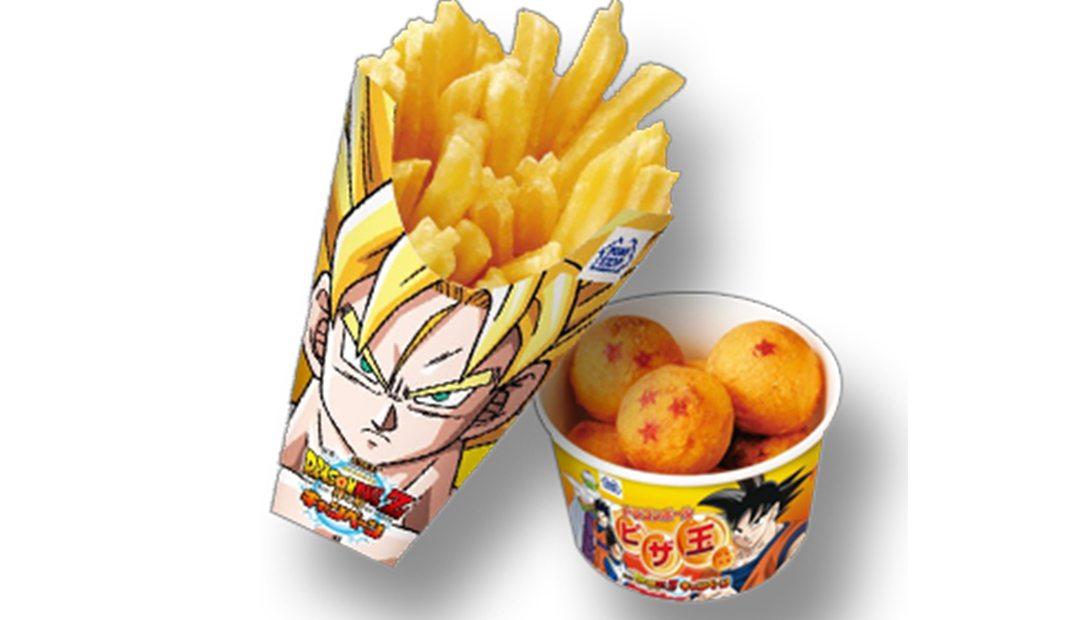 Dragon ball patate fritte