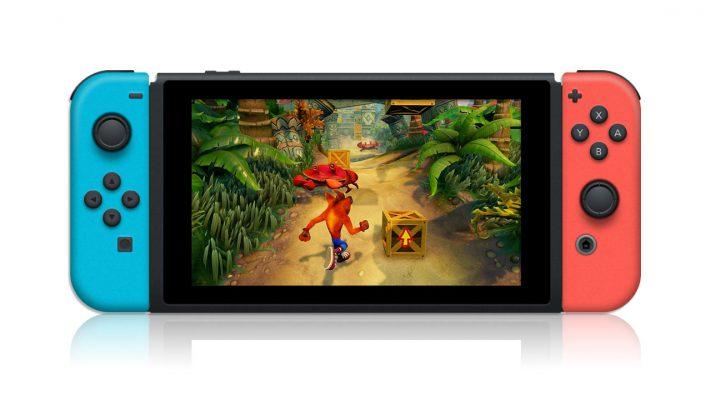 Un altro segnale per Crash Bandicoot N. Sane Trilogy su Switch