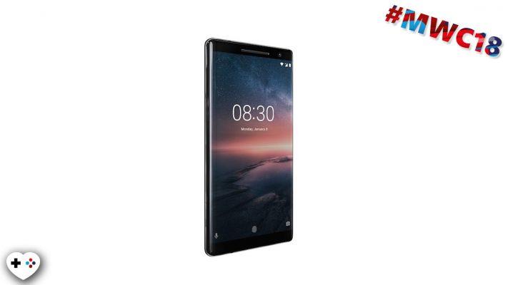 Nokia 8 Sirocco: ufficiale il primo top di gamma con Android One – MWC 18
