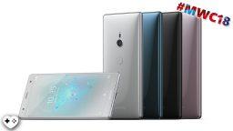 Xperia ZX2 e XZ2 Compact: nuovi top di gamma Sony dal design rinnovato – MWC 18