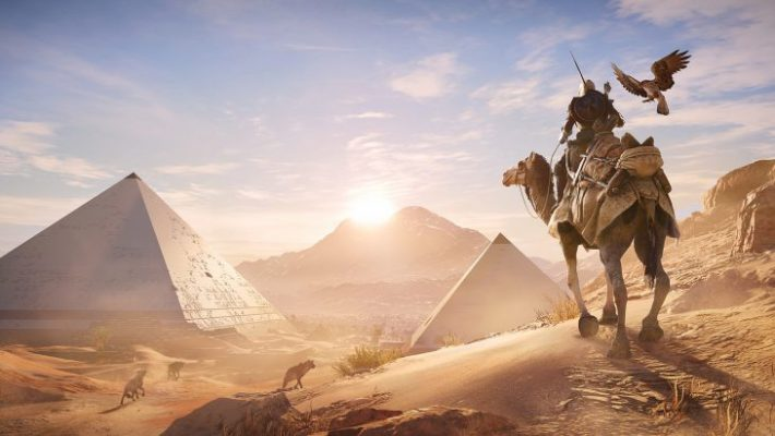 Un premio attende chi finirà il New Game Plus di Assassin's Creed Origins
