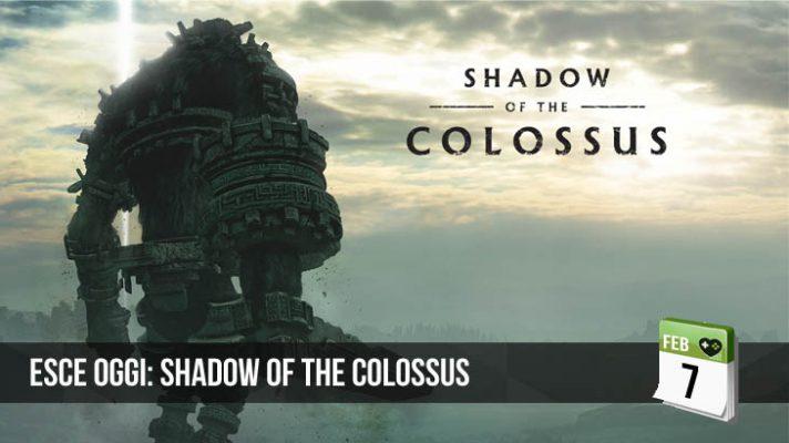 Esce Oggi: Shadow of the Colossus