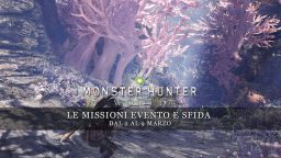 Monster Hunter: World – Le missioni evento e sfida dal 2 al 9 marzo