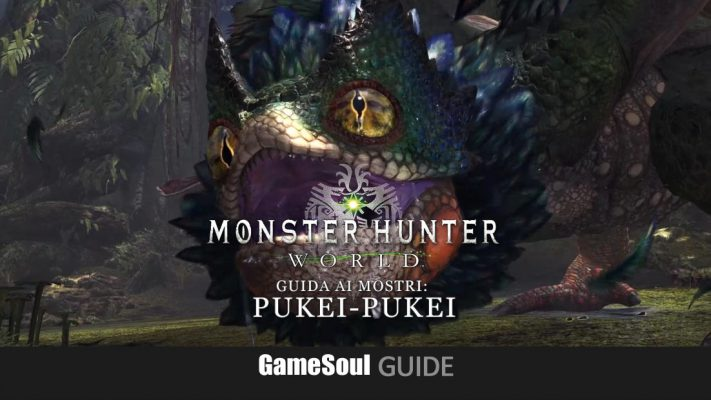 Monster Hunter: World – Guida ai Mostri: Pukei-Pukei