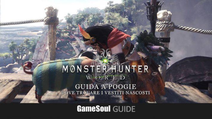 Monster Hunter World – Guida a Poogie: dove trovare i vestiti nascosti