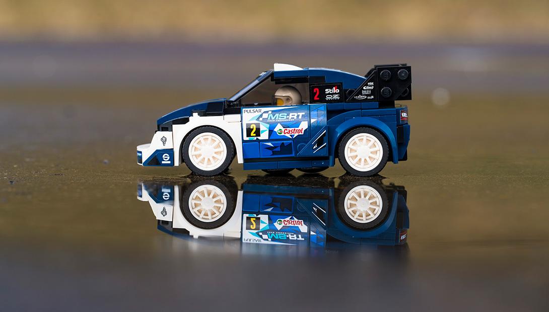 La Fiesta vincitrice del FIA WRC 2017 diventa un modellino LEGO