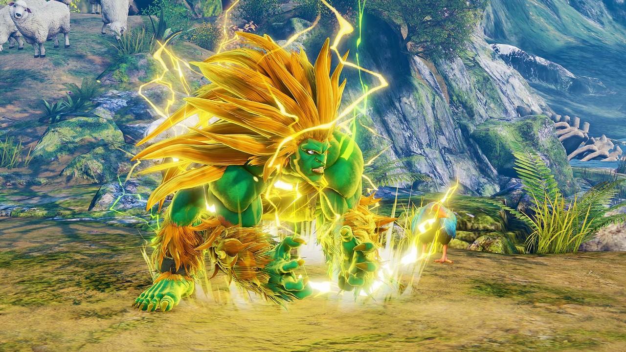 Il sempreverde Blanka arriva su Street Fighter V: Arcade Edition!