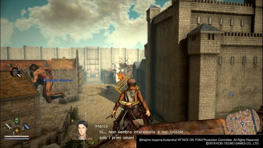 A.O.T. 2 - Attack on Titan 2 Recensione