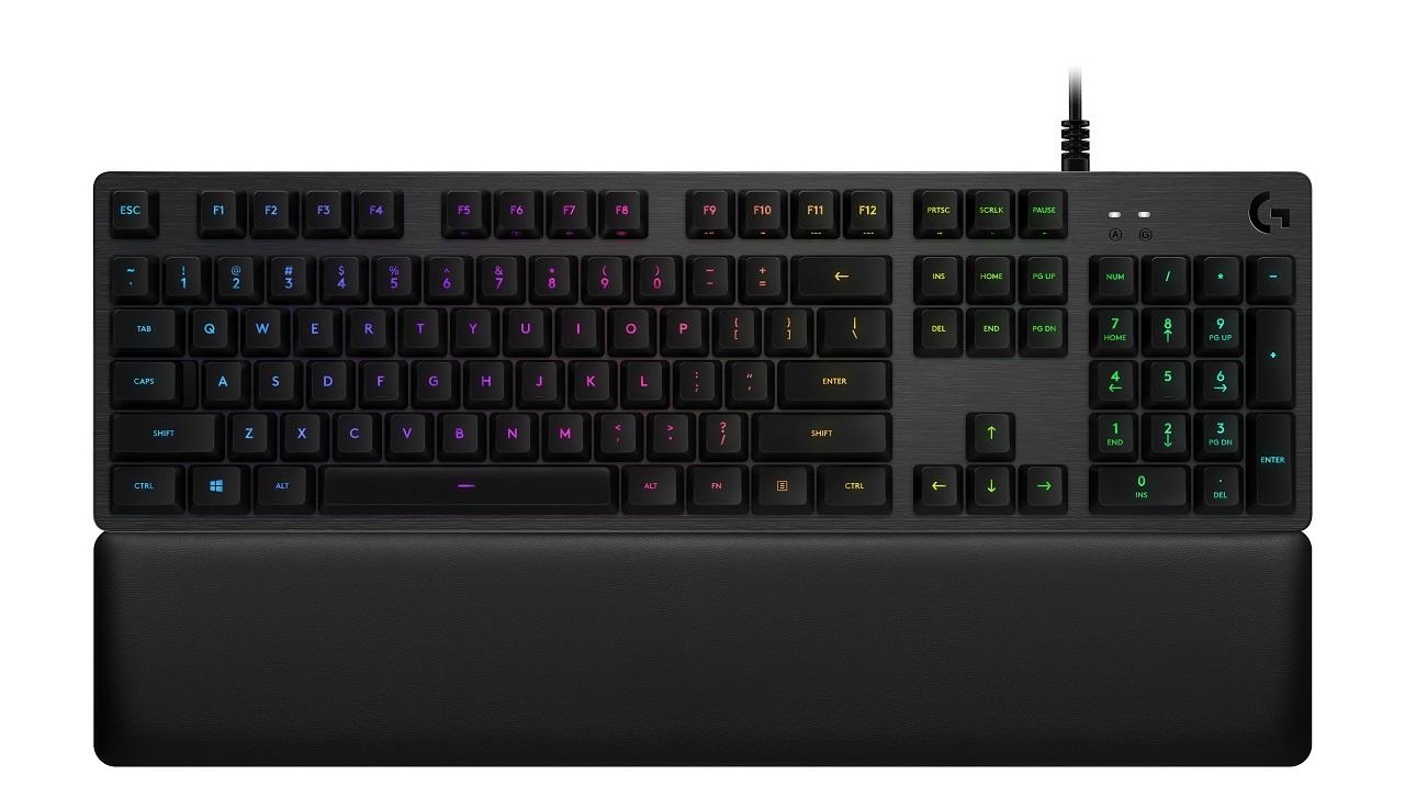 Logitech G513, la nuova tastiera meccanica da gaming con LightSync