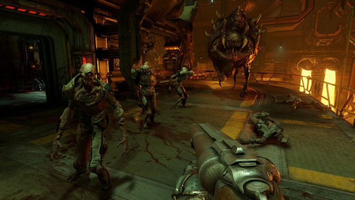Doom: la patch per PS4 Pro e Xbox One X arriva oggi!