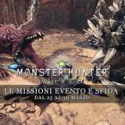 Monster Hunter: World – Le missioni evento e sfida dal 23 al 30 marzo