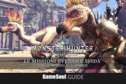 Monster Hunter: World – Le missioni evento e sfida dal 30 marzo al 6 aprile