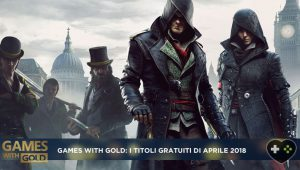 Games with Gold Aprile 2018