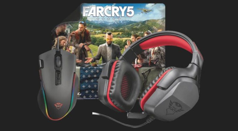 Trust presenta i nuovi bundle dedicati a Far Cry 5