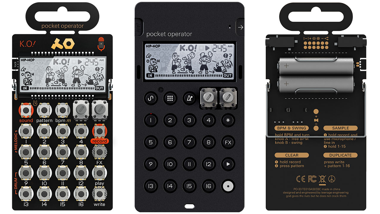 Pocket Operator PO33 KO