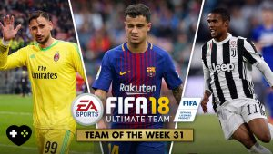 FIFA Ultimate Team – TOTW 31 – L'aggiornamento del 18 aprile