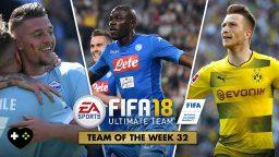 FIFA Ultimate Team – TOTW 32 – L'aggiornamento del 25 aprile
