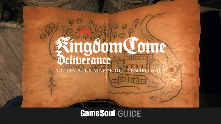 Kingdom Come: Deliverance – Guida alle Mappe del Tesoro 6-10