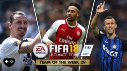 FIFA Ultimate Team – TOTW 29 – L'aggiornamento del 04 aprile