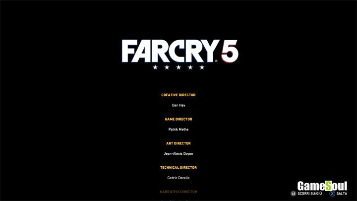 Far Cry 5 finale segreto