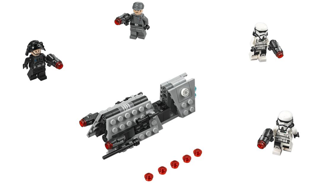 LEGO Imperial patrol Solo: a Star Wars Story