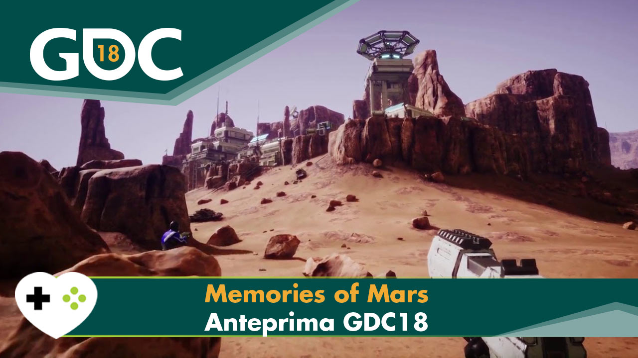 Memories of Mars GDC 2018 GameSoul