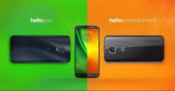 Motorola presenta le nuove famiglie di smartphone Moto G6 e Moto E5