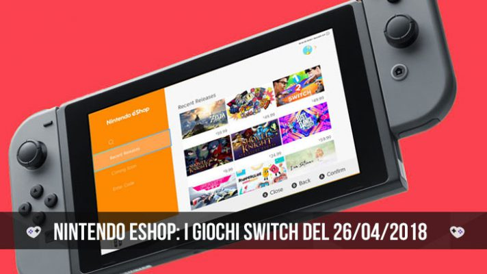 Nintendo eShop Swtich