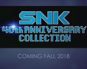 Passione retrò: SNK 40th Anniversary Collection arriva su Switch