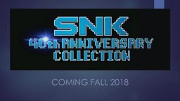 Passione retrò: SNK 40th Anniversary Collection arriva su Switch