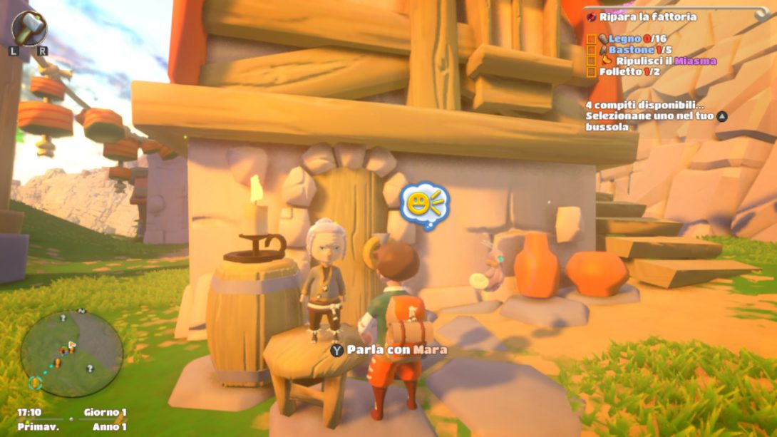 Yonder recensione switch