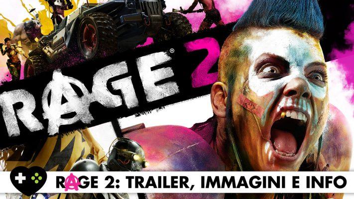 RAGE 2: l'esplosivo Gameplay Trailer è finalmente arrivato