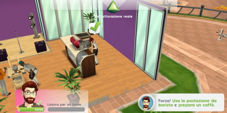 The Sims Mobile guida