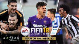 FIFA Ultimate Team – TOTW 33 – L'aggiornamento del 2 maggio