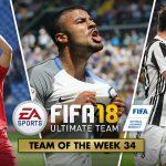 FIFA Ultimate Team – TOTW 34 – L'aggiornamento del 9 maggio