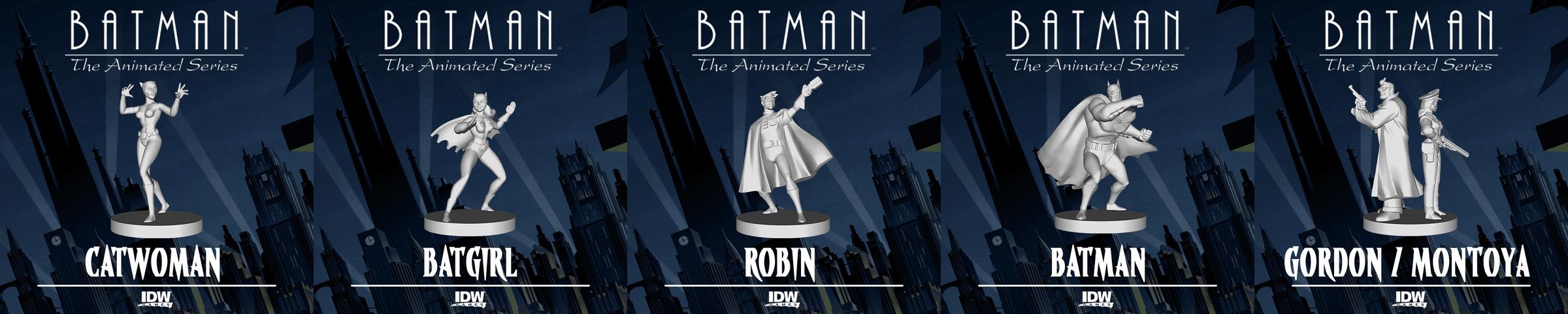 Batman Animated Series Gotham Under Siege