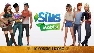 The Sims Mobile – I 10 Consigli d'Oro | Guida