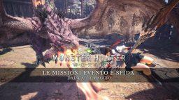Monster Hunter: World – Le missioni evento e sfida dal 4 all'11 maggio