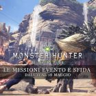 Monster Hunter: World – Le missioni evento e sfida dall'11 al 18 maggio