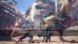 Monster Hunter: World – Le missioni evento e sfida dall'11 al 18 maggio
