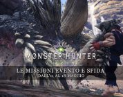 Monster Hunter: World – Le missioni evento e sfida dal 18 al 25 maggio