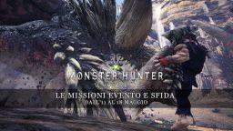 Monster Hunter: World – Le missioni evento e sfida dal 18 al 25 maggio