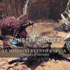 Monster Hunter: World – Le missioni evento e sfida dal 1 al 8 giugno