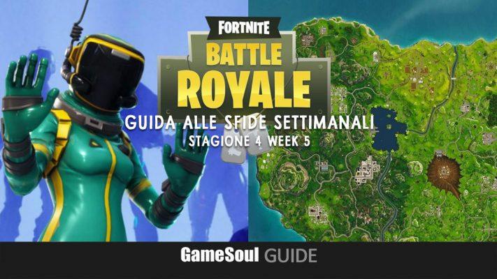 Fortnite: Battle Royale – Guida alle Sfide Settimanali – Stagione 4 Week 5